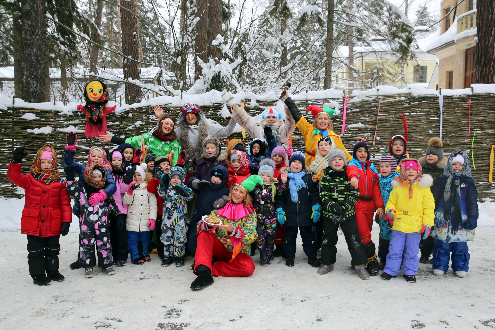 MASLENITSA 2018 IN THE KINDERGARTEN