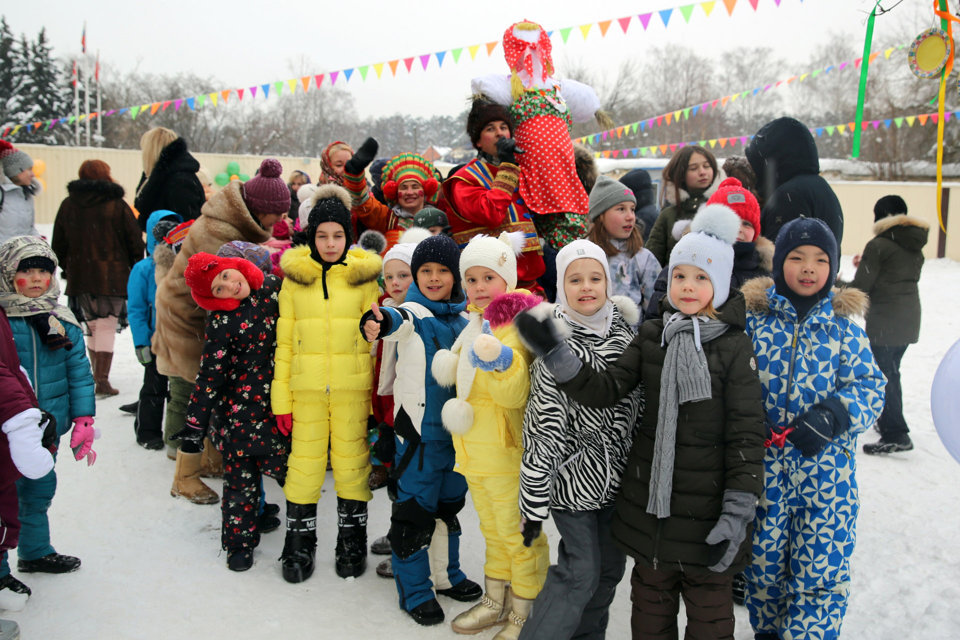 MASLENITSA 2018 IN THE SCHOOL