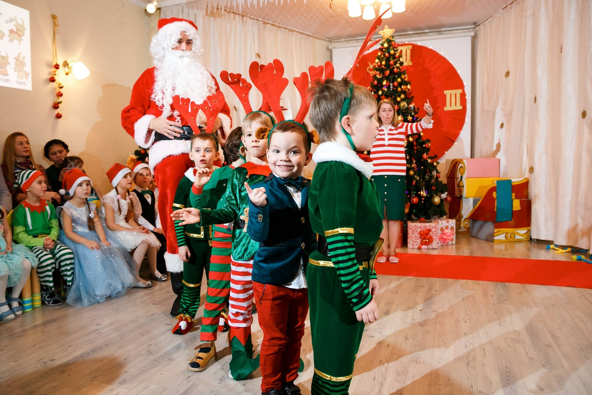 NEW YEAR CONCERT IN RIS NURSERY ZHUKOVKA